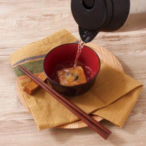 自然派Style国産具材のおみそ汁 揚げなす