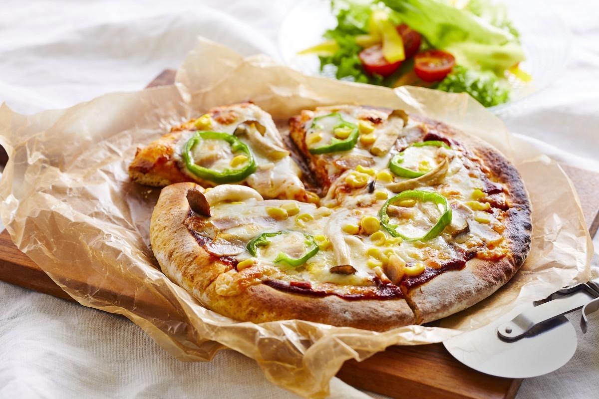 ホットケーキピザ